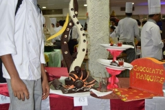 hotel Management Colleges in Hyderabad chocolate display