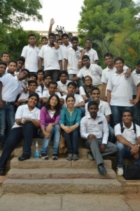 Hotel Management Colleges in Hyderabad students at museum  group