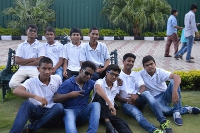 Hotel Management Colleges in Hyderabad students at museum  fun