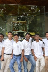 Hotel Management Colleges in Hyderabad students at museum  juniors