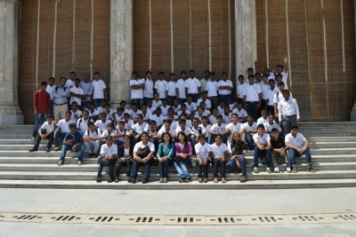 Hotel Management Colleges in Hyderabad students at museum  final