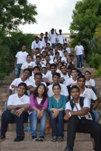 Hotel Management Colleges in Hyderabad students at museum  visit