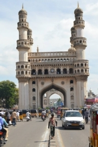 Hotel Management Colleges in Hyderabad students at charminar
