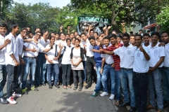 Hotel Management Colleges in Hyderabad students at museum  starting