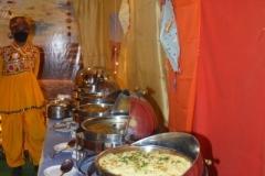food setup at regency