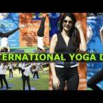 REGENCY college of Hotel Management celebrates INTERNATIONAL YOGA DAY @ Jalagam vengalrao park,HYD.