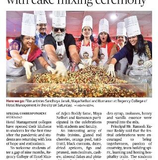 The Hindu-Cake Mixing Press Note