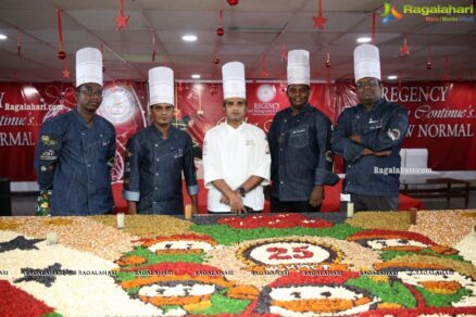 Christmas Cake Mixing 2020 at hotel management college by students