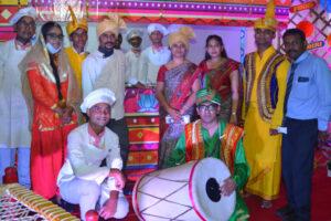 Punjabi food festival by hotel management college students