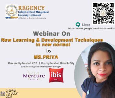 priya at regency college